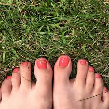 love how my pedicure came out the color was a pink coral yelp