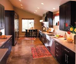 contemporary galley kitchen design decora cabinetry