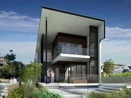 linear progression modern residence design concept home