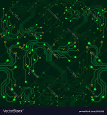 electrical scheme seamless pattern royalty free vector image