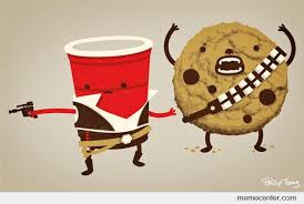 Red Solo Cup Meme - han solo cup chewbacca the cookie by ben meme center