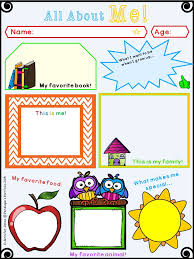about me template for 28 images all about me worksheet