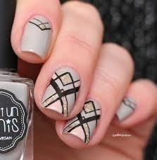 Nail Art Design Black Best 25 Geometric Nail Art Ideas On Pinterest Nail Tutorials