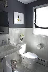 bathroom ideas with beadboard design ideas beadboard paneling in a grey bathroom 10 rooms