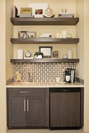 Wet Bar Sink And Cabinets Wet Bar Cabinets With Sink This Little Wet Bar Area Is Oh So