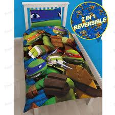 Kids Single Duvet Cover Sets Ninja Turtle Bed Set Vnproweb Decoration