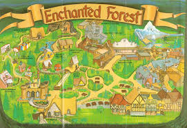 Central Park Zoo Map Newsplusnotes From The Vault Enchanted Forest Brochure 1995