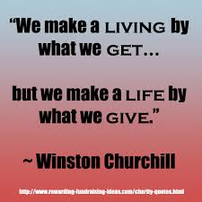 charity quotes inspirational fundraising quotes to use
