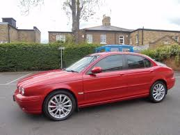 jaguar x type 2 0 se diesel manual 122000 service history red