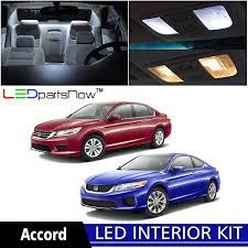 amazon com ledpartsnow 2013 2018 honda accord led interior lights