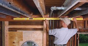 how to install cabinets with uneven ceiling leveling an ceiling homebuilding