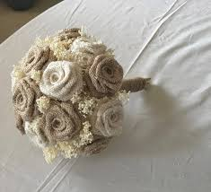 bouquets for weddings ivory burlap wedding bouquets rustic weddings bouquets