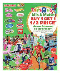 toys r us weekly flyer weekly mix u0026 match dec 15 u2013 21