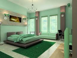 Green And Brown Bedroom Warm Blue Bedroom Inspiring Home - Green bedroom color