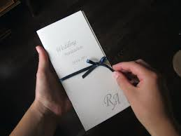 Invitation Card Cover Bifold Personalised Bespoke Wedding Invitations Wedding Invitation