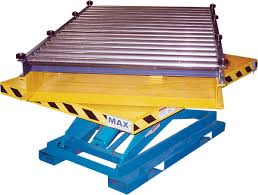 Pallet Lift Table by Custom Engineered Scissor Lift Tables
