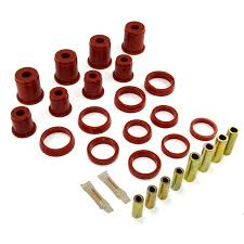 copper jeep cherokee rugged ridge 18362 01 front control arm bushing kit red 84 01