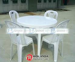 White Resin Patio Tables White Resin Table And Chairs Awesome Plastic Patio Table