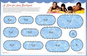 Backyard Pool Sizes by Choose The Perfect Pool For Your Family Berry Family Pools
