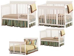 Shermag Tuscany Convertible Crib Convertible Cribs Rustic Bedroom Bed Cherry Baby Mod
