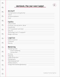 Event Planning Sheet Template Dinner Budget Templates Documents And Pdfs