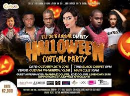 the 2016 annual charity halloween costume party in port harcourt