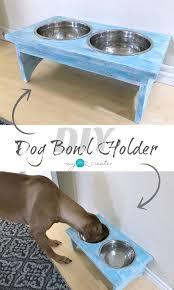 DIY Dog Bowl Holder Your Best DIY Projects Pinterest