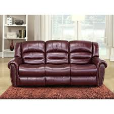 Burgundy Leather Chair And Ottoman Burgundy Leather Rocker Recliner 31 Cool Image Is Loading Abbyson