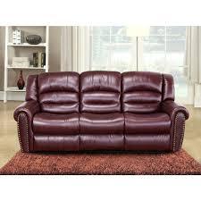 recliner design 44 revolution burgundy leather reclining sofa