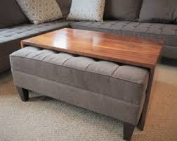 Wood Coffee Table Wood Coffee Table Etsy