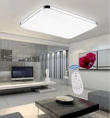 Led Deckenbeleuchtung Wohnzimmer Sailun 48w Dimmbar Led Modern Deckenleuchte Deckenlampe Flur