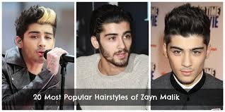 zayn malik hairstyles 20 best hairstyles of zayn malik all the time