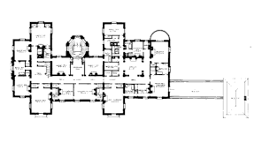 floor plans for mansions floorplans homes of the rich