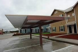 Cantilever Awnings Commercial Carports And Covered Parking Structures