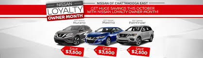 does nissan finance have a grace period nissan of chattanooga east new u0026 used car dealership