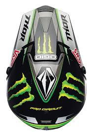 monster motocross helmets thor quadrant pro circuit monster helmet