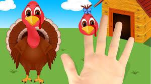 thanksgiving rhyme turkey finger family nursery rhyme for thanksgiving day youtube