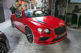 red bentley convertible 2017 bentley continental supersports first look motor trend canada