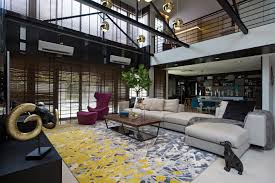 Chic Interior Elements By TDi Results In A Stylish Lake Fields - Modern chic interior design