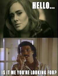 Lionel Richie Meme - lionel always answers adele always imgur