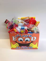 junk food gift baskets retro candy junk food gift basket