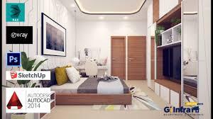 3d max home design tutorial 3ds max 2016 vray 3 6 interior design tutorial bedroom part 1