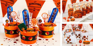 basketball party ideas basketball party favors whistles bounce balls paddle balls