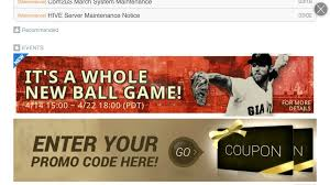 Buggy Bench Coupon Code We Have A Code To Get 5 Free Pro Drafts In U0027mlb Perfect Inning 15