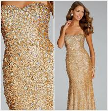 sparkling dresses for new years strapless gold prom dresses naf dresses