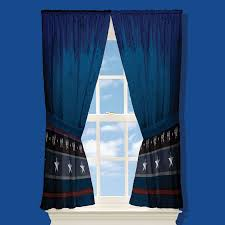 Blue Window Curtains Discount Window Curtain Mykidsbedding Free Shipping