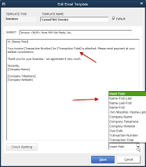 qb power hour sending forms to customers by email
