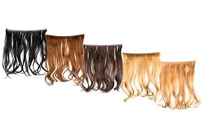 headband hair extensions 18 easy to use flip in headband hair extensions groupon