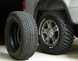 Ford Diesel Truck Tires - 07 ford f150 tire size ford