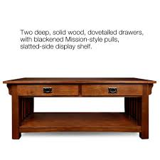 Two Drawer Coffee Table Product Leick Home